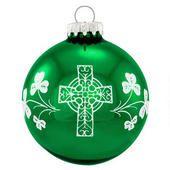 Irish Creed Ornament