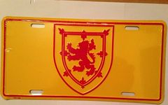 Rampart Lion License Plate
