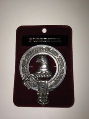 Clan Crest Cap Badge A - L