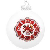 Fireman's Shield Ornament