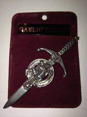 Clan Crested Kilt Pin M - Z