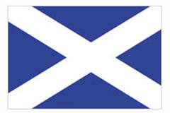 St. Andrews Cross Flag - 2x3