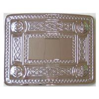 Celtic Buckle - Chrome