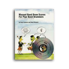 Massed Band Drum Scores