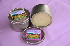 Lavender and Lemongrass Soy Candle (8 oz metal tin)