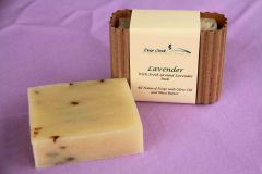 Lavender Essential Oil Soap with Buds