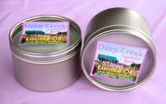 Lavender and Sage Soy Candle, 8 oz tin