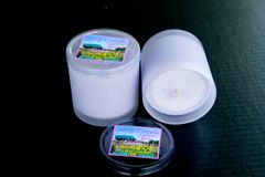 Lavender Soy Candle, 10 oz frosted glass with DCLF logo