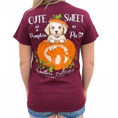Southern Attitude - Pumpkin Puppy Maroon