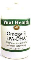 Omega EPA-DHA 180 Softgels