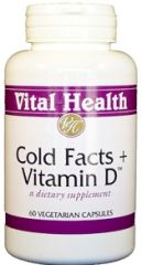 Cold Facts + Vitamin D3 60 Capsules