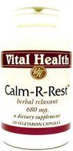 Calm-R-Rest 60 Vegetarian Capsules