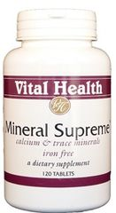 Mineral Supreme 120 tabs
