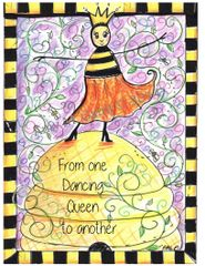 Dancing Queen Bee Boxed Note Cards