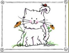 Spring Kitty Boxed Note Cards