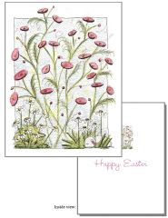 Easter - Bunny in the Garden Greeting Card