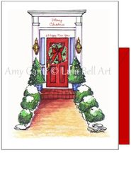Christmas - The Red Door Card