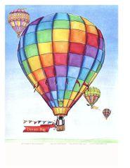 Art Print - Hot Air Balloon