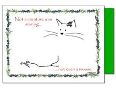 Christmas - Cat and Mouse Card