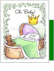 Baby - Our Little Blessing Greeting Card