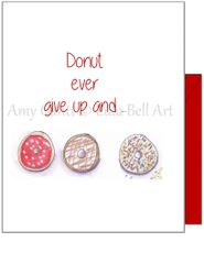 Thinking of you - Donut Thinking of You Greeting Card