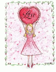 Valentine - Love you with all my Heart Greeting Card