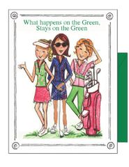 Girls on the Green Boxed Note Cards