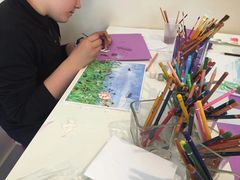 Kid's Art Classes - Painting, Drawing and more