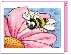 Friendship - Buzzy Bee Greeting Card