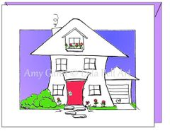 New Home - Cottage Greeting Card