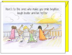 Birthday - Girls Trip Greeting Card