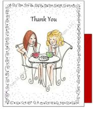 Thank you -Coffee Talk Greeting Card