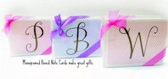 A Monogram - Boxed Note Cards