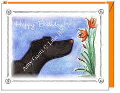 Birthday - Lily Birthday Card