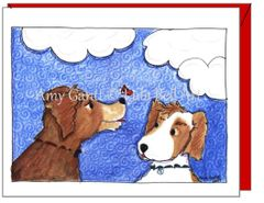 Friendship - Canine Friends Greeting Card