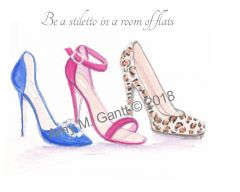 The Stilettos Note Cards