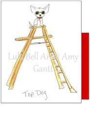 Congratulations - Top Dog Greeting Card