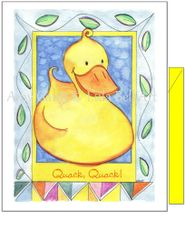 Baby - Duckie Greeting Card