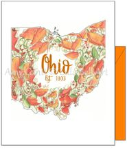 Ohio Fall Note Cards
