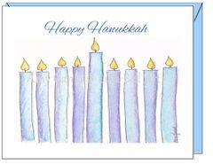 Hanukkah - Hanukkah Candels Greeting Card