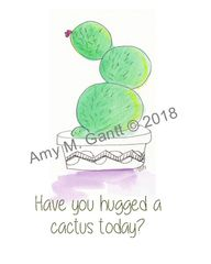 Cactus Hug Note Cards