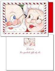 Holiday - Santa's Kiss Card