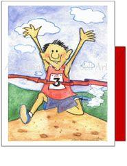 Birthday - Dashing Dan Greeting Card