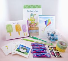 Lula Bell Mail - Stationery Subscription