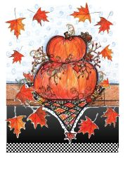Thanksgiving - Many Blessings Greeting Cards