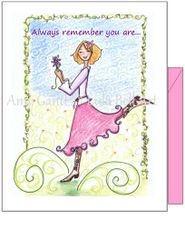 Encourgement - Sunshine Boots Greeting Card