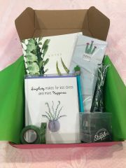 "Gift Box - ""Simplicity makes for less stress and more happiness"" Cactus Bella Box"