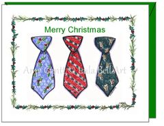 Christmas - Christmas Ties Greeting Card