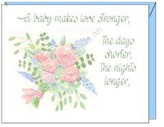 Baby - Baby Bouquet Greeting Card