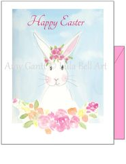 Easter - Easter Bunny Greeting Card